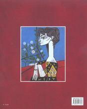 Picasso intime - 4ème de couverture - Format classique