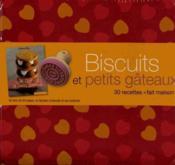 Biscuits et petits gâteaux ; coffret - Couverture - Format classique