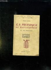 Physique Du Baccalaureat . - Couverture - Format classique