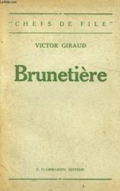 Brunetiere. - Couverture - Format classique