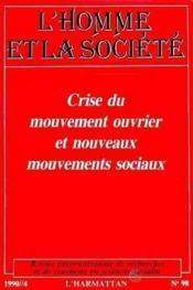 Crise Du Mouvement Ouvrier Et Nouveaux Mouvement Hs 98 - Couverture - Format classique