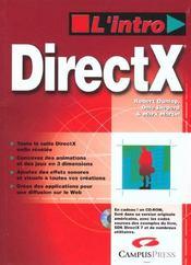 L'Intro Directx - Intérieur - Format classique