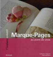 Marque-pages au point de croix - Intérieur - Format classique
