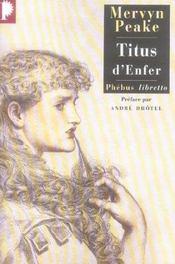 Titus d'enfer - Intérieur - Format classique