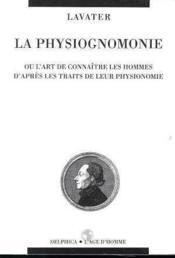 Physiognomonie (La) - Couverture - Format classique