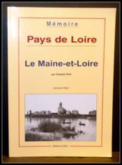 Le Maine-Et-Loire Par Celestin Port - Couverture - Format classique