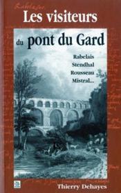 Les visiteurs du pont du Gard - Couverture - Format classique