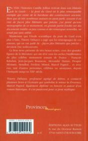 Les visiteurs du pont du Gard - 4ème de couverture - Format classique