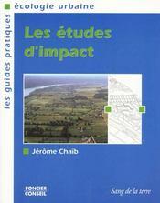 Les etudes d'impact - Intérieur - Format classique