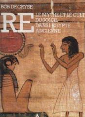 Re-Mythe Culte Soleil - Couverture - Format classique