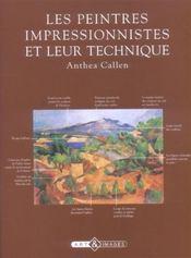 Les Peintres Impressionnistes Et Leur Technique - Intérieur - Format classique