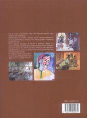 Les Peintres Impressionnistes Et Leur Technique - 4ème de couverture - Format classique