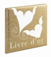 Le livre d'or du mariage - Intérieur - Format classique