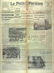 Petit Parisien Edition De Paris (Le) du 13/05/1941 - Couverture - Format classique