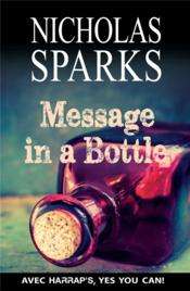 Vente  Message in a bottle  - Nicholas Sparks