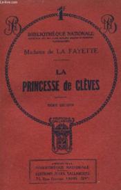 La Princesse De Cleves Tome Second. - Couverture - Format classique