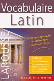 Vente livre :  Vocabulaire latin  - Collectif