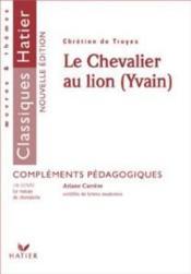Le Chevalier Au Lion, Yvain - Couverture - Format classique