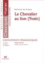 Le chevalier au lion ; yvain - Couverture - Format classique