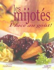 Les mijotes ; place au gout ! - Intérieur - Format classique