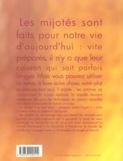 Les mijotes ; place au gout ! - 4ème de couverture - Format classique