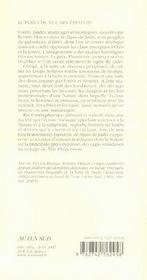 Le Signe De Jadis - 4ème de couverture - Format classique