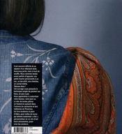 Tatouages sur tissus ; indiennes et cachemire au pochoir - 4ème de couverture - Format classique