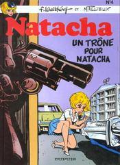 Natacha t.4 ; un trône pour Natacha - Intérieur - Format classique