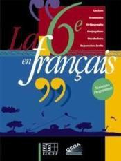 La 6e En Francais (Cote D'Ivoire) - Couverture - Format classique