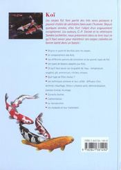 Koi - 4ème de couverture - Format classique