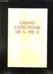 Catechisme De S Pie X - Couverture - Format classique