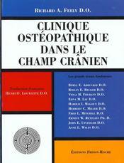 Clinique Osteopathique Dans Le Champ Cranien ; Les Grands Textes Fondateurs - Intérieur - Format classique