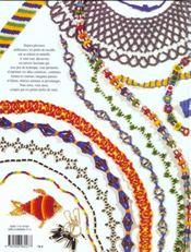 Perles de rocaille au fil du temps - 4ème de couverture - Format classique