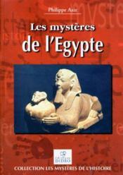 Les mysteres de l'egypte - Couverture - Format classique