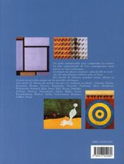 Les peintres contemporains et leur technique - 4ème de couverture - Format classique