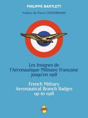 Les insignes de l'aéronautique militaire française jusqu'en 1918 - Intérieur - Format classique