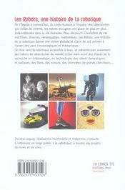 Robots (Les) - Une Histoire De La Robotique - 4ème de couverture - Format classique
