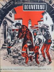 Louveteau N°15 du 05/10/1955 - Couverture - Format classique