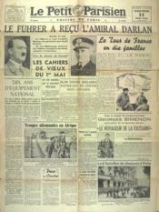 Petit Parisien Edition De Paris (Le) du 14/05/1941 - Couverture - Format classique