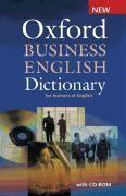 Vente  Oxford business english dictionary for learners of english with cd-rom  - Xxx