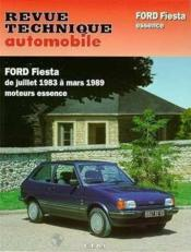 Rta 449.4 Ford Fiesta Essence (1984/1989) - Couverture - Format classique