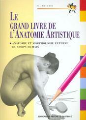 Le Grand Livre De L'Anatomie Artistisque - Intérieur - Format classique