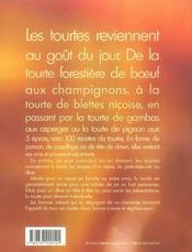 Croute Doree Et Coeur Tendre ; Tourtes - 4ème de couverture - Format classique