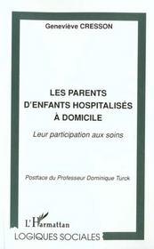 Les Parents D'Enfants Hospitalises A Domicile - Intérieur - Format classique