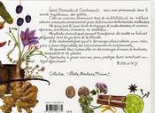 Épices, aromates et condiments ; petites recettes d'assaisonnements parfumés - 4ème de couverture - Format classique