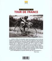 Tour De France (La Legende Du) - 4ème de couverture - Format classique