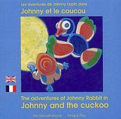 Johnny Et Le Coucou Francais Anglais - Couverture - Format classique