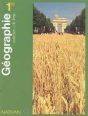 Vente  Geographie 1re L Es S ; Collection Pitte  - Jean-Robert Pitte