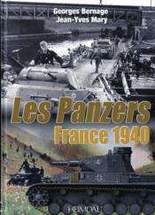 France 1940 ; les panzers - Couverture - Format classique