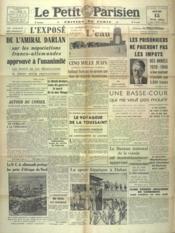 Petit Parisien Edition De Paris (Le) du 15/05/1941 - Couverture - Format classique